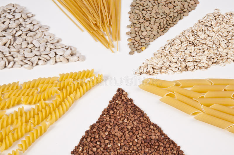 Download Variety of grains stock photo. Image of cereal, group - 22768590