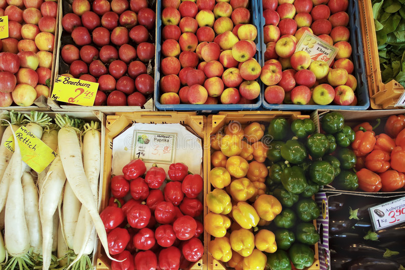 Download Variety of produce stock image. Image of diet, fruits - 9167769
