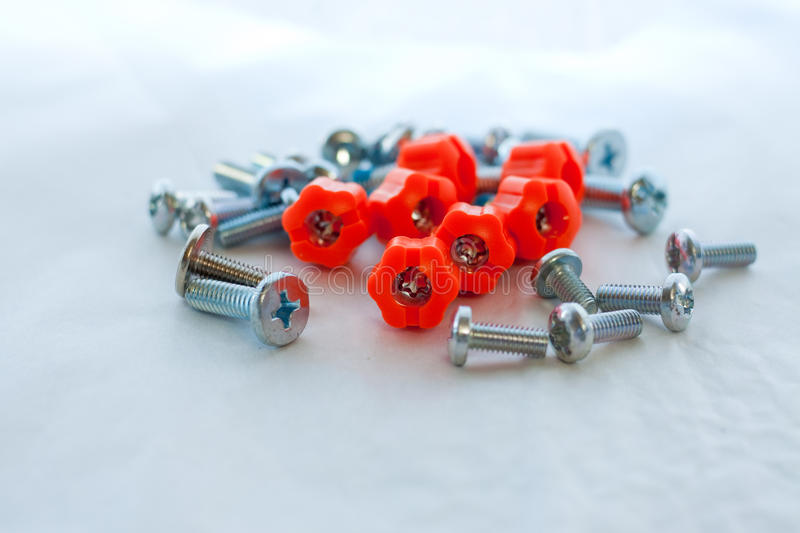 Download Variety Of Screws And Thumbscrews Royalty Free Stock Photos - Image: 12849538