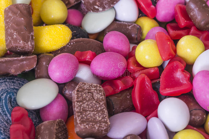 A variety of sweets royalty free stock image