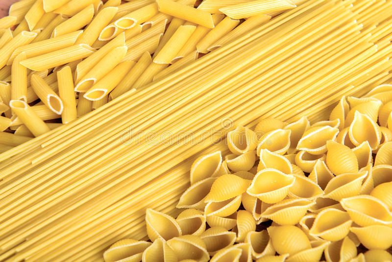 Download Variety Of Types And Shapes Of Italian Pasta Stock Photo - Image of composition, menu: 39500206