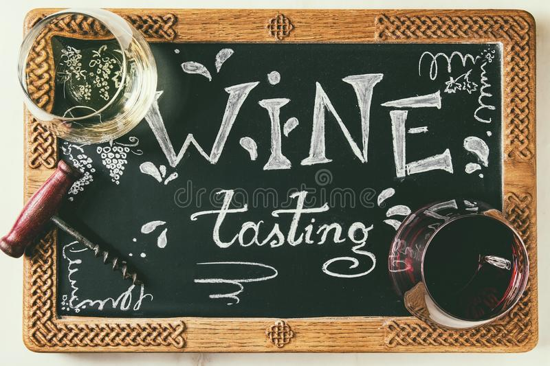 Variety of wine royalty free stock photography