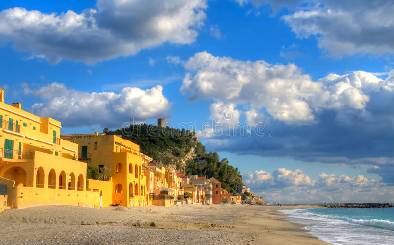 Varigotti beach royalty free stock images
