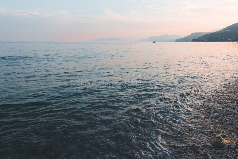 Varigotti morze Italy obrazy royalty free