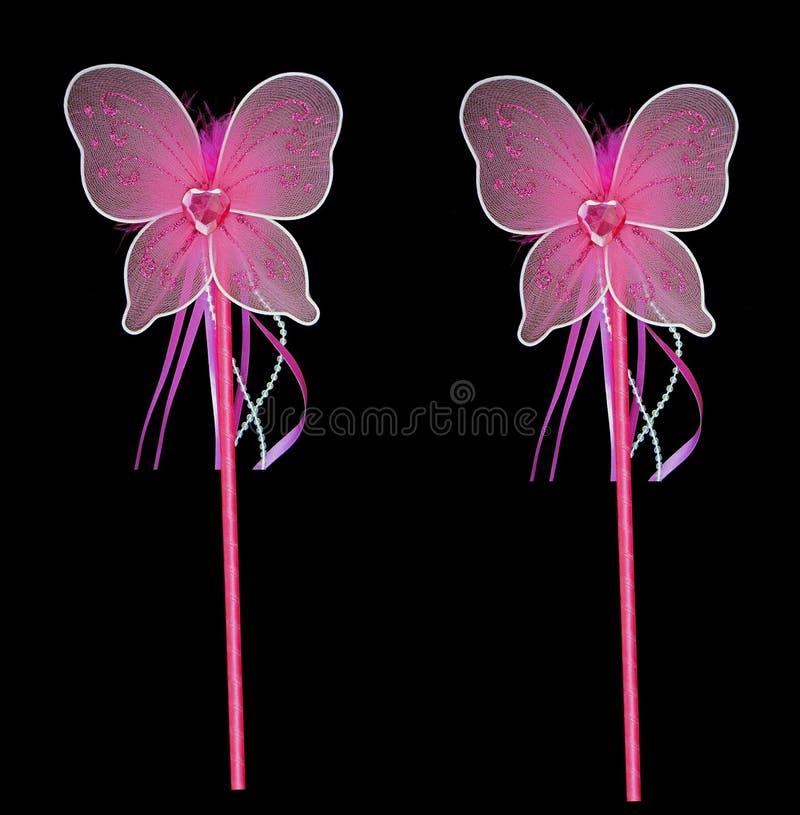 Varinhas feericamente cor-de-rosa ilustração royalty free