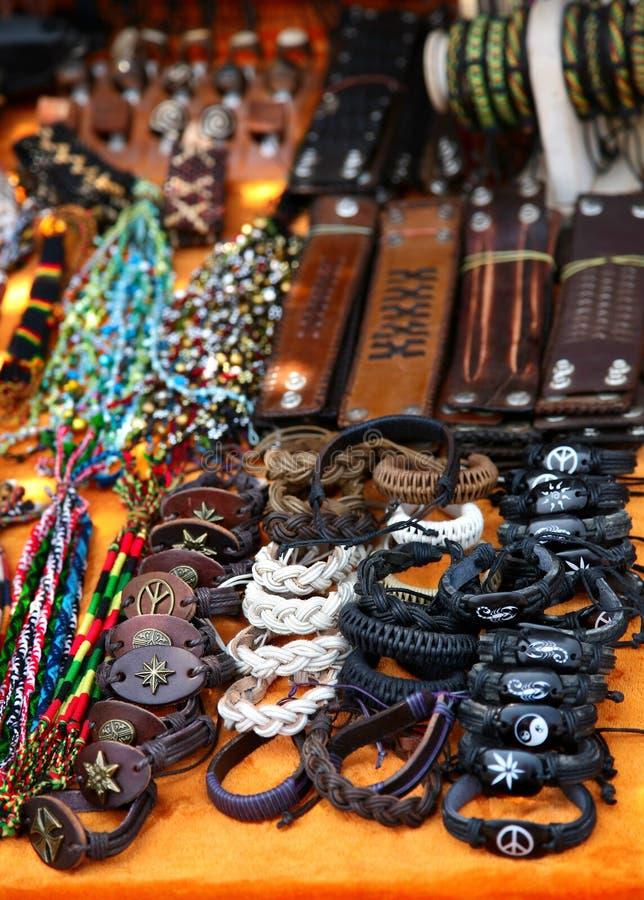 Vario dei braccialetti e dei wallies immagine stock libera da diritti