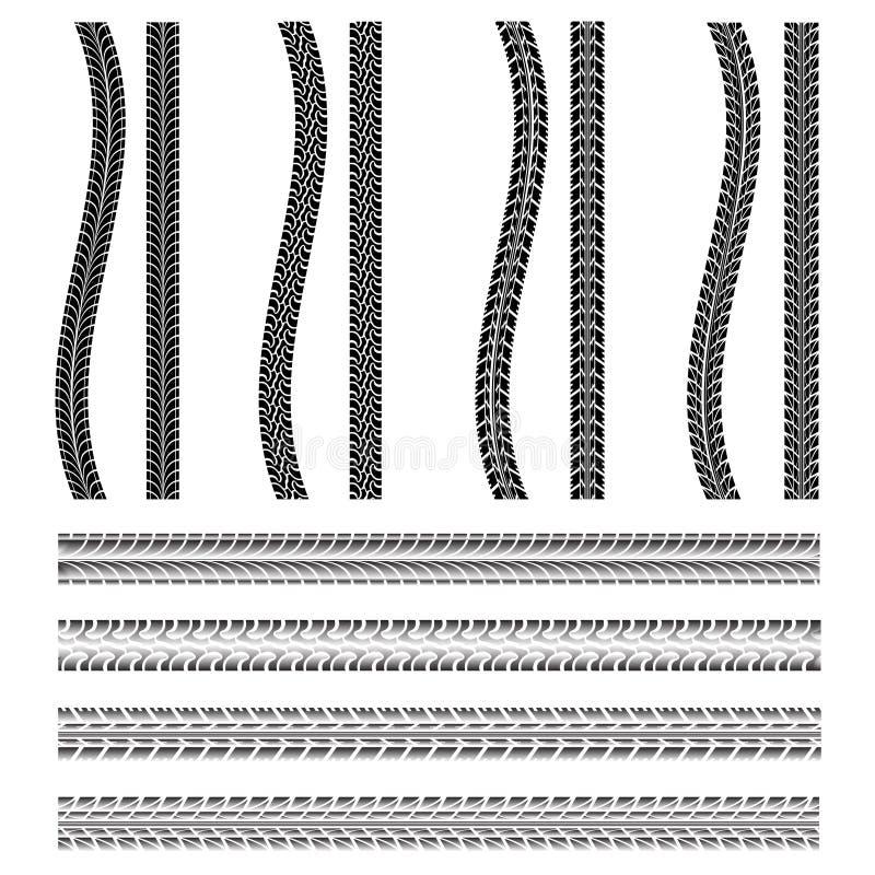 Vario pneumatico dell'automobile royalty illustrazione gratis