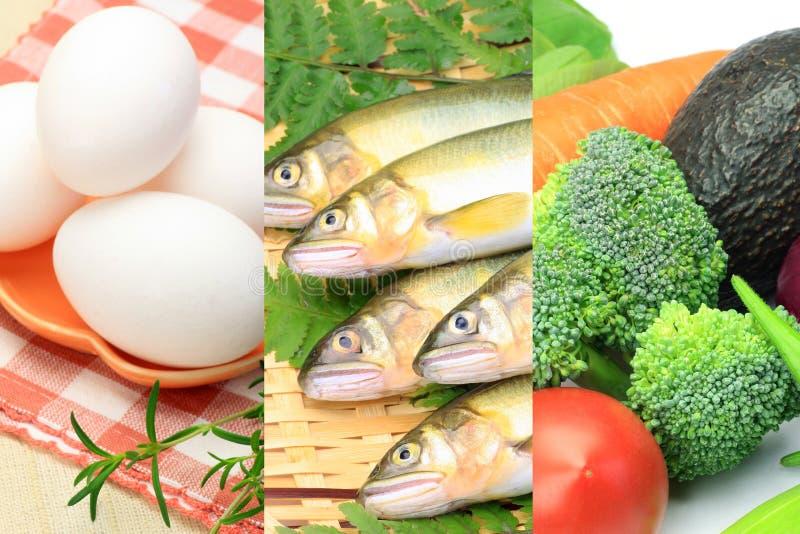 Varios alimentos fotos de archivo