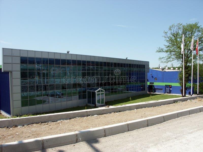 Varios edificios de diversas regiones de muestras de Turquía, de la vivienda de protección oficial y de los edificios industriale imágenes de archivo libres de regalías