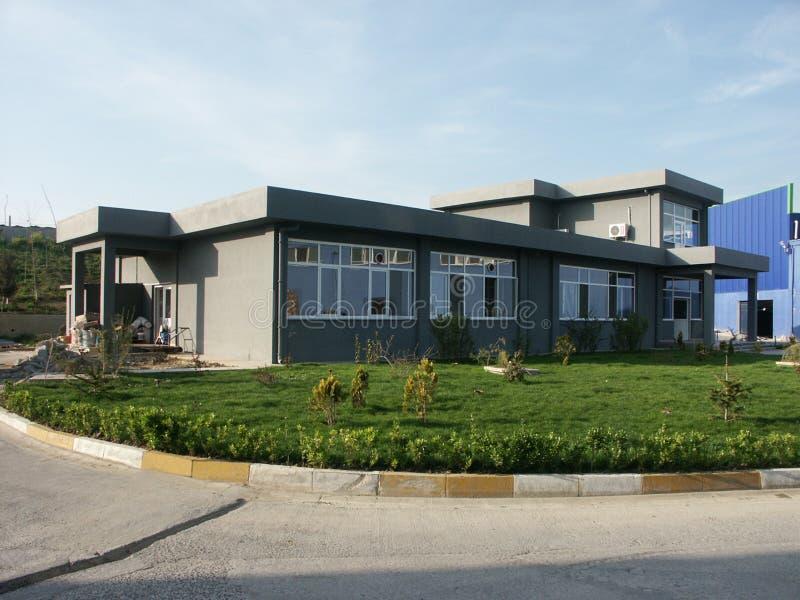 Varios edificios de diversas regiones de muestras de Turquía, de la vivienda de protección oficial y de los edificios industriale fotografía de archivo