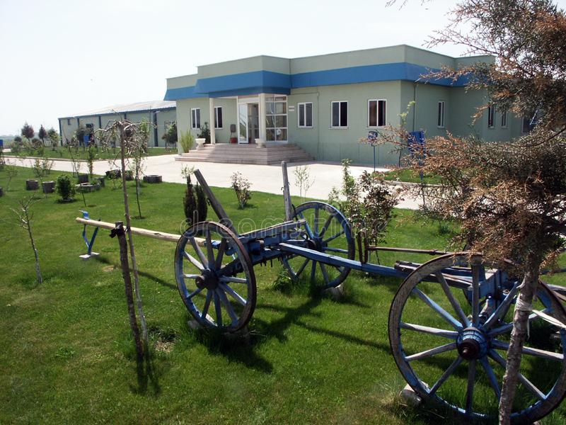 Varios edificios de diversas regiones de muestras de Turquía, de la vivienda de protección oficial y de los edificios industriale foto de archivo