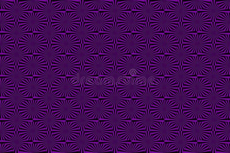 Varios rayos ilustración del vector