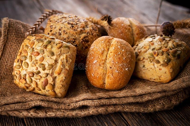 Varios tipos de pan imagen de archivo
