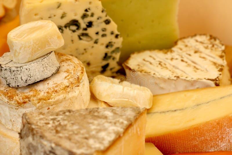 Varios tipos de queso imágenes de archivo libres de regalías