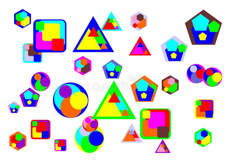 Various Abstract Object and shape stock images