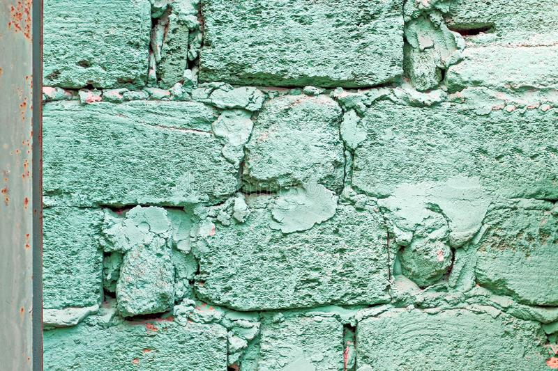 Various background types of laying stones from granite and other materials used in the construction. Of old buildings and structures royalty free stock photography