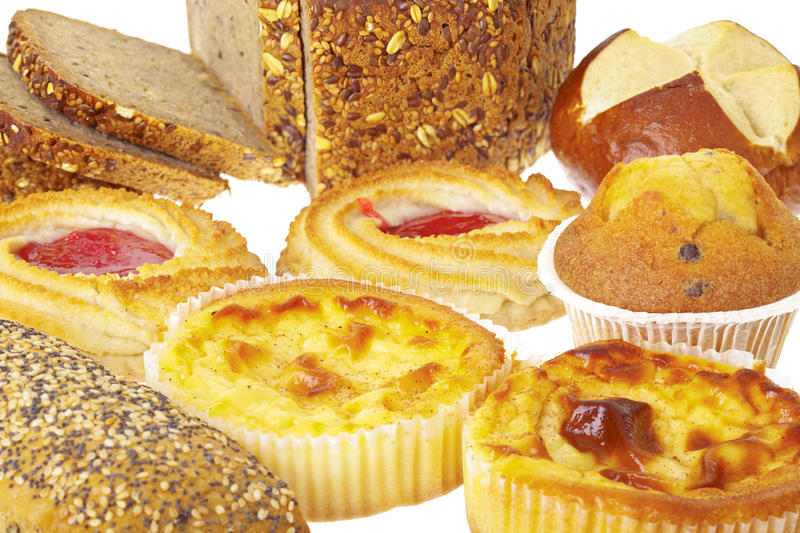 Download Various bakery products stock image. Image of products - 25418759