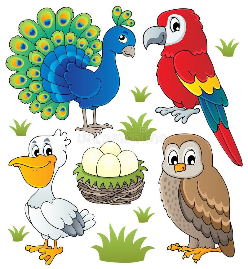 Free Various Birds Theme Set 2 Stock Photos - 28044633