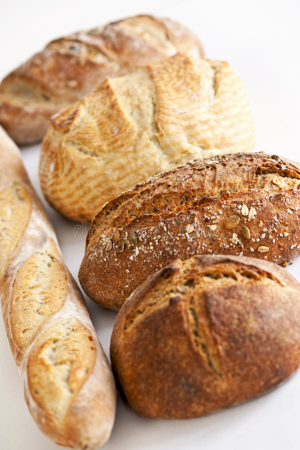 Download Various breads stock image. Image of crust, breads, french - 23506511