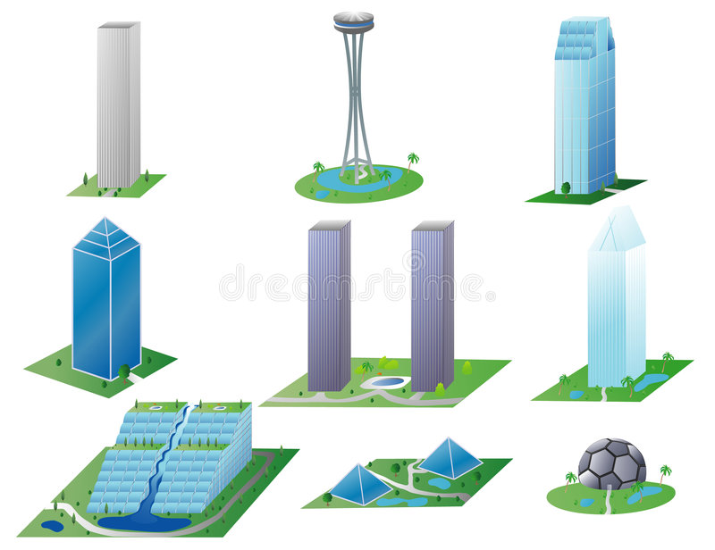 Download Various Buildings II Stock Photos - Image: 4348803