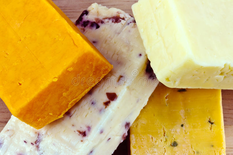 Download Various cheeses stock image. Image of creamy, gloucester - 28960285