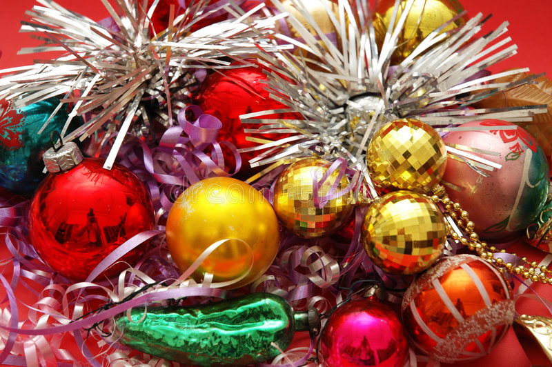 Download Various Christmas Decorations Stock Image - Image: 1995529