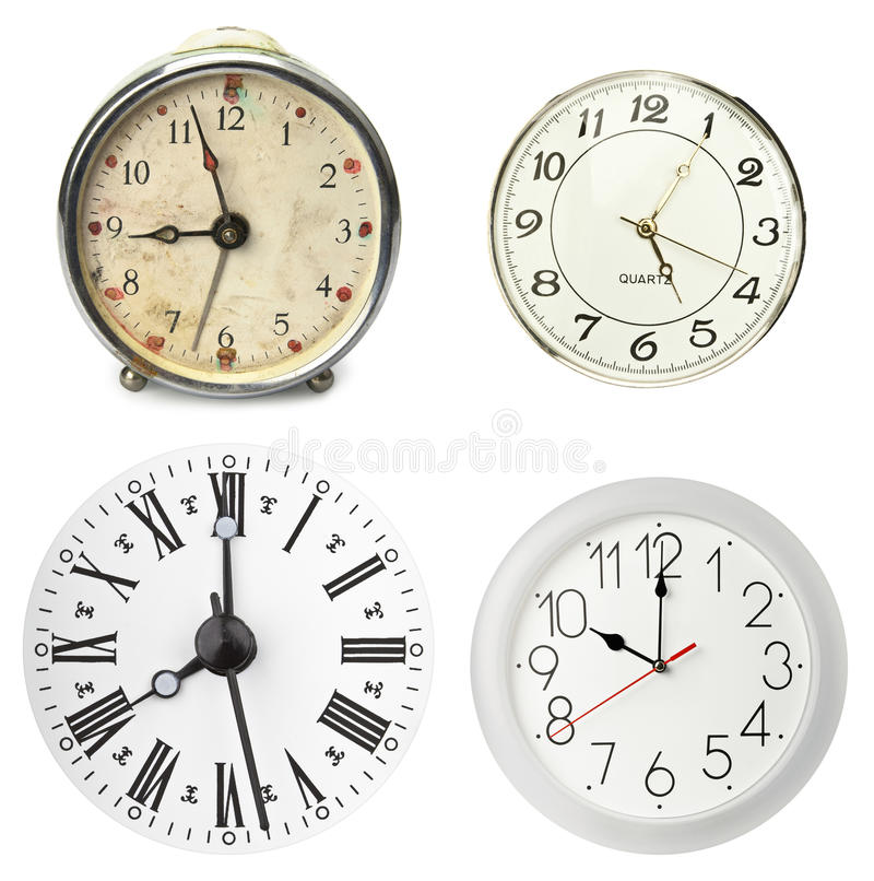 Download Various clocks stock photo. Image of classic, hour, grungy - 19195010