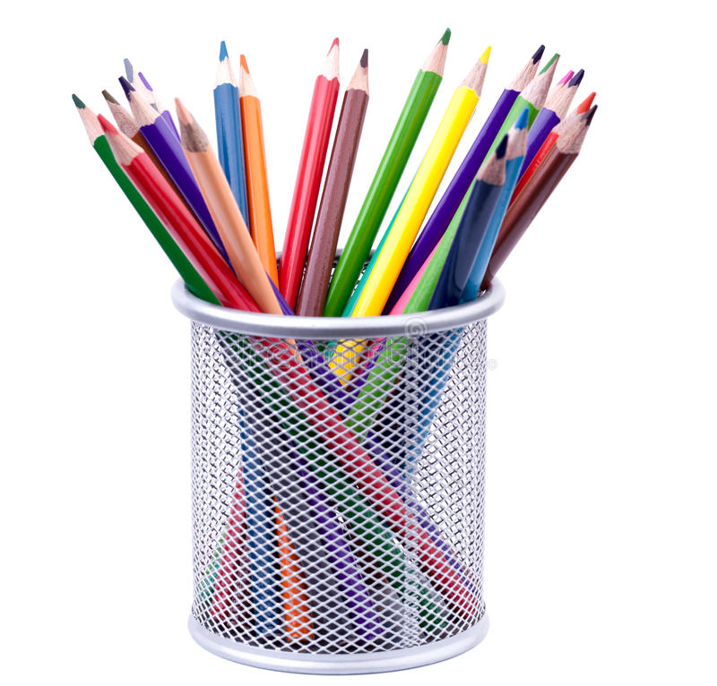 Download Various colorful pencils stock photo. Image of purple - 24686914