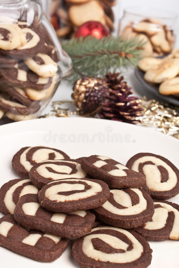 Download Various Cookies With Pine Cones Stock Image - Image: 11926425