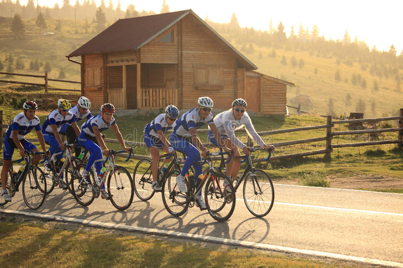 Download Various Cyclists From Different Teams At Paltinis, Romania Editorial Stock Photo - Image: 29145053