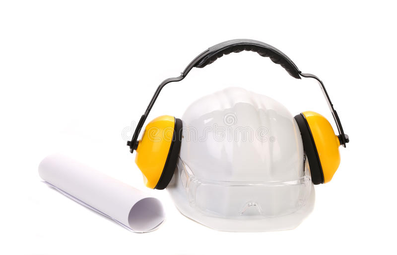 Various equipment for architect. stock images