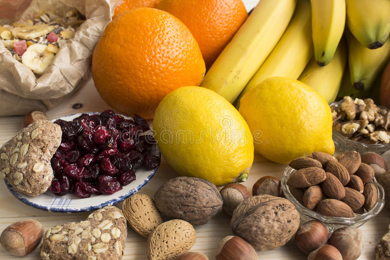 Various Healthy Food stock images