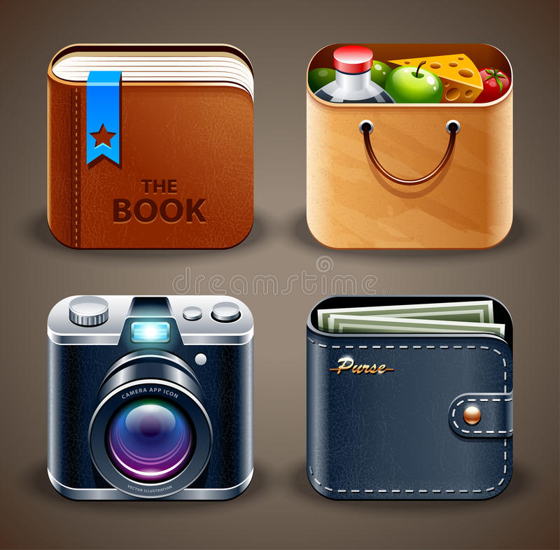 Free Various Icons Royalty Free Stock Photography - 29293117