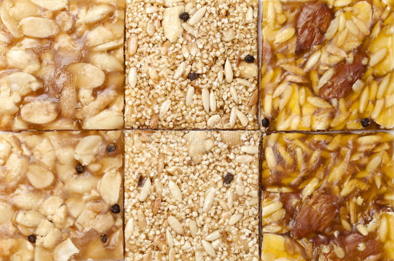 Various Indian brittle stock photography