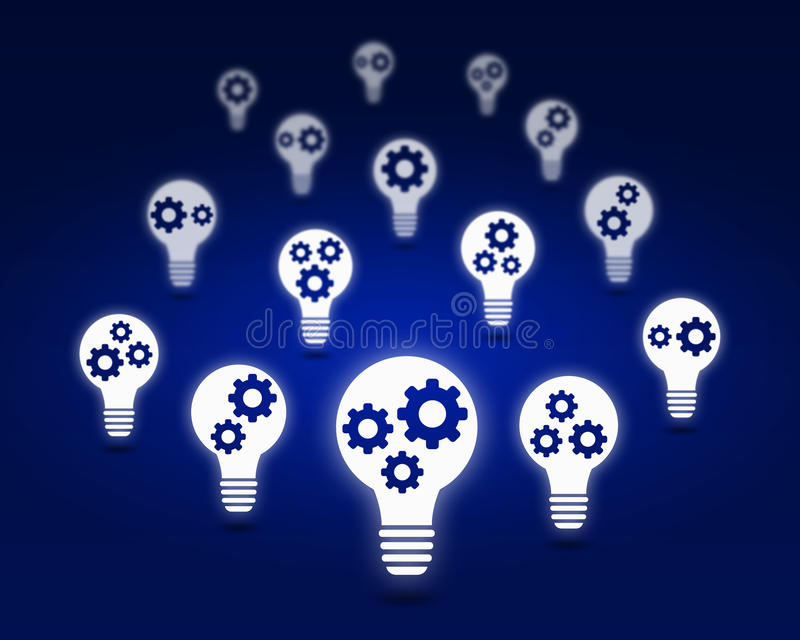 Various interface icons. Conceptual background image with many icons of applications royalty free stock photo