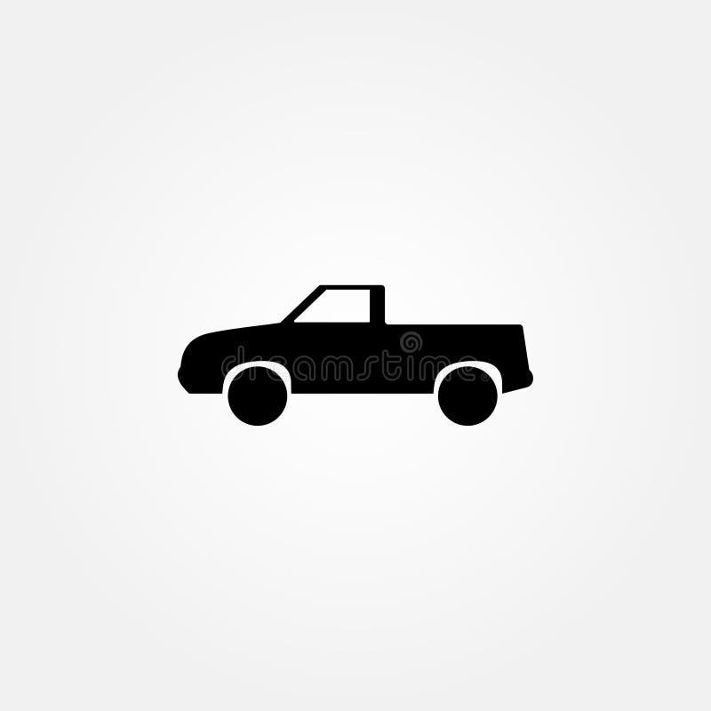 Stock vector flat truck icon. Various model truck icon. EPS 10 stock illustration