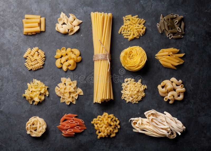 Various pasta stock photos