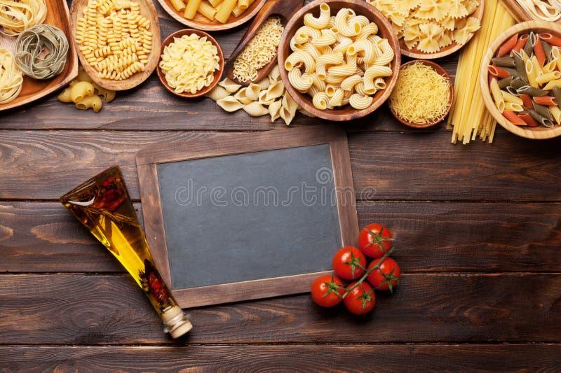 Various pasta stock photography