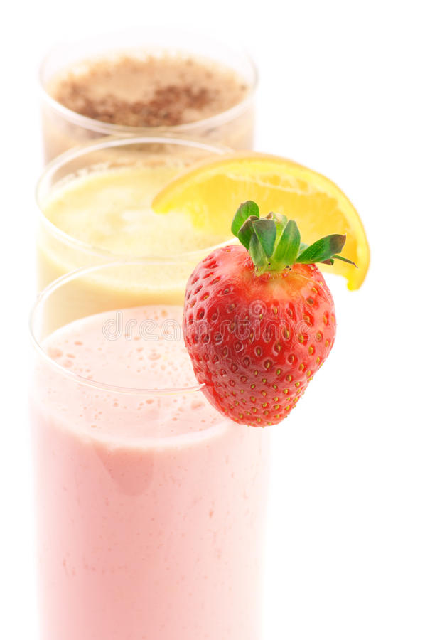 Download Various protein cocktails stock photo. Image of fresh - 18587232