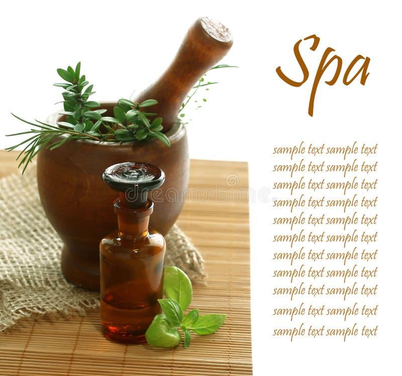 Various spa en aromatherapy royalty-vrije stock foto's