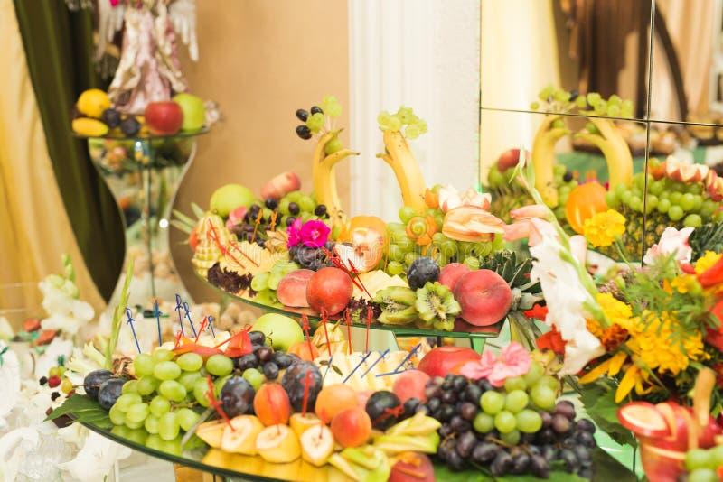 Various sweet sliced fruit on a buffet table stock image image of download various sweet sliced fruit on a buffet table stock image image of banquet watchthetrailerfo