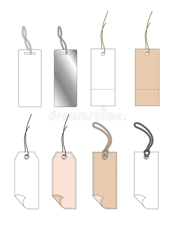 Download Various tags stock vector. Image of sales, label, promotional - 13155225