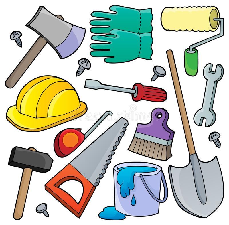 Free Various Tools Theme Collection 1 Royalty Free Stock Images - 40495349