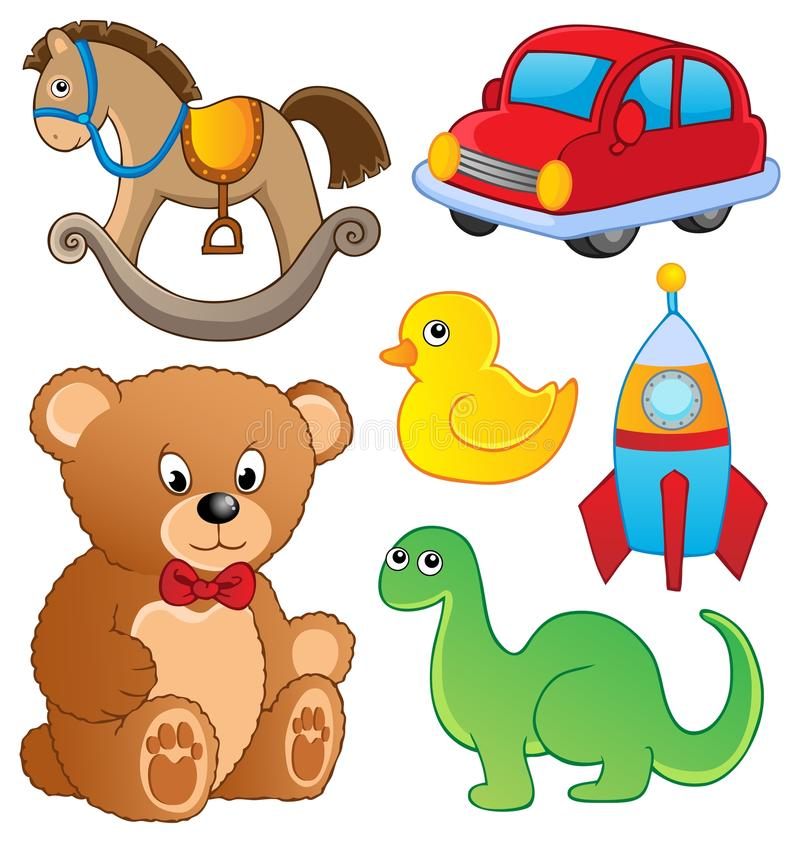 Download Various toys collection stock vector. Illustration of clipart - 27160171