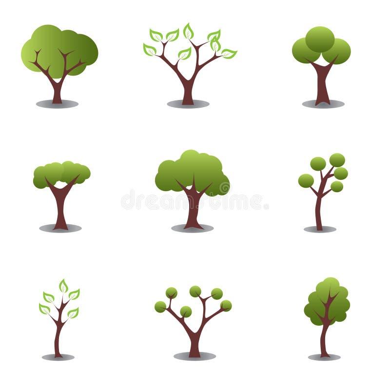 Free Various Trees Royalty Free Stock Photos - 13705308