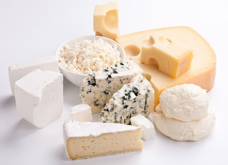 Download Various types of cheeses. stock photo. Image of mediterranean - 17245398