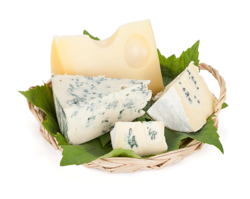 Download Various types of cheeses stock image. Image of blue, italian - 26636385