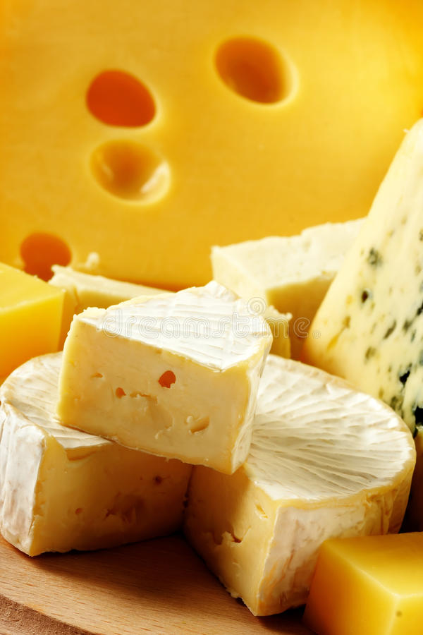 Free Various Types Of Cheese Royalty Free Stock Photography - 11609507