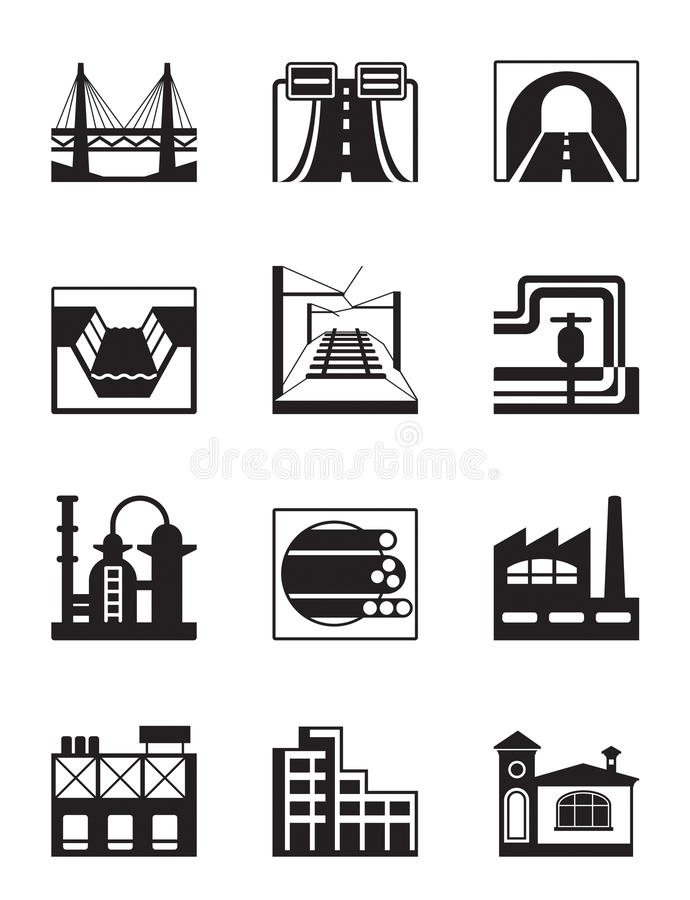 Free Various Types Of Construction Royalty Free Stock Image - 30448756