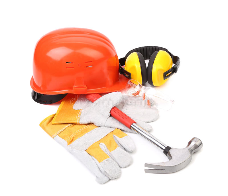 Various working equipment. stock images